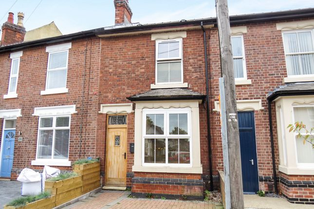 Thumbnail Terraced house for sale in Mansfield Road, Chester Green, Derby