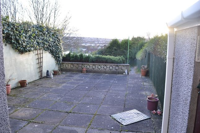 Rear Garden of Pentregethin Road, Gendros, Swansea. SA5