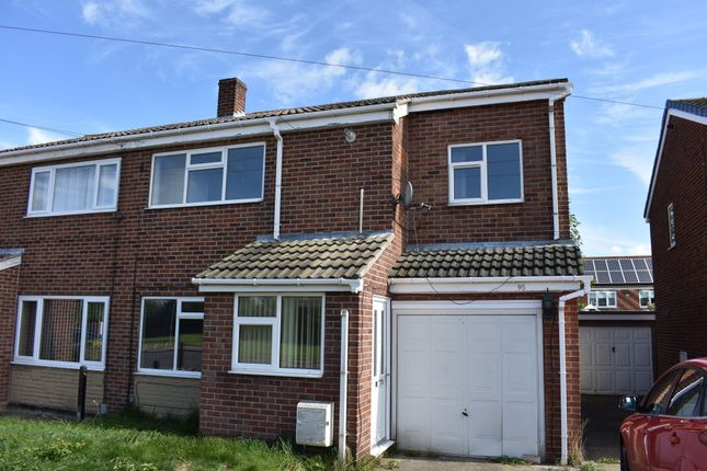 Thumbnail Semi-detached house to rent in Newhill Road, Monk Bretton, Barnsley, South Yorkshire