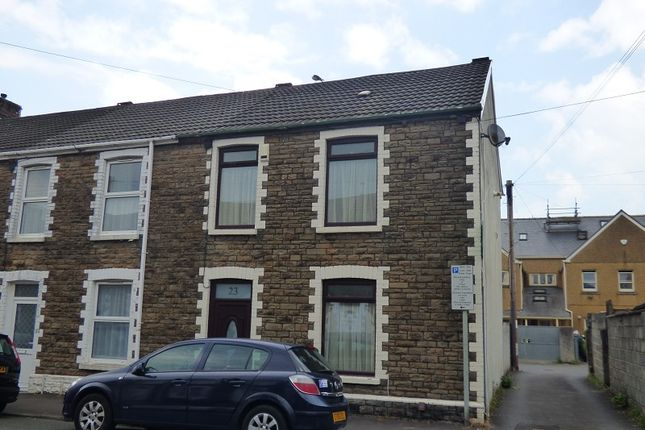 Thumbnail End terrace house to rent in Creswell Road, Neath, Neath Port Talbot.