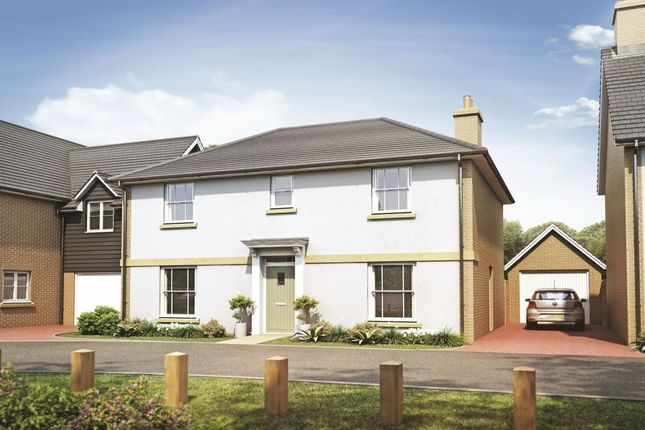 Thumbnail Detached house for sale in Harvester Close Garden Walk, Royston