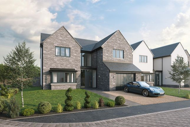 Thumbnail Detached house for sale in Plot 5, The Caerphilly, Gower Heights, Gower Road, Upper Killay, Swansea