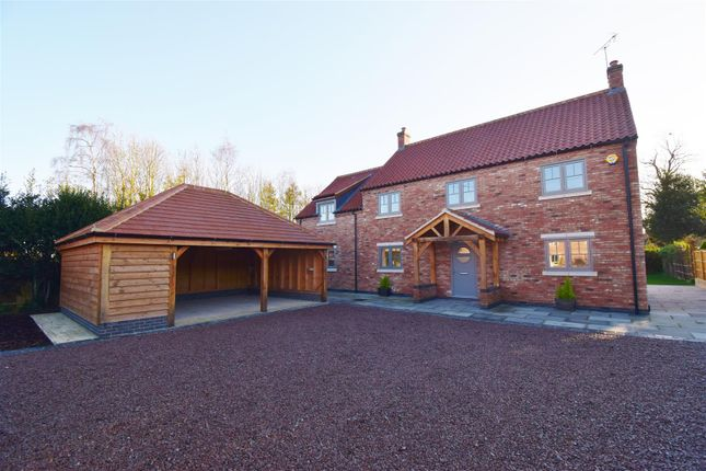 Thumbnail Detached house for sale in Southwell Road, Farnsfield, Newark
