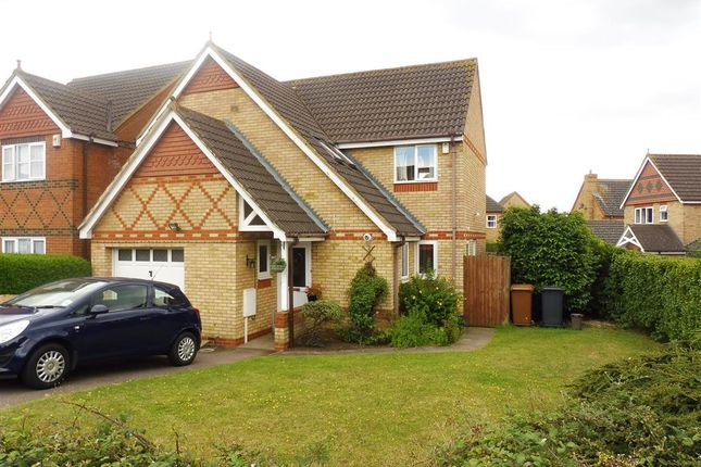Thumbnail Detached house for sale in Cross Brooks, Wootton, Northampton