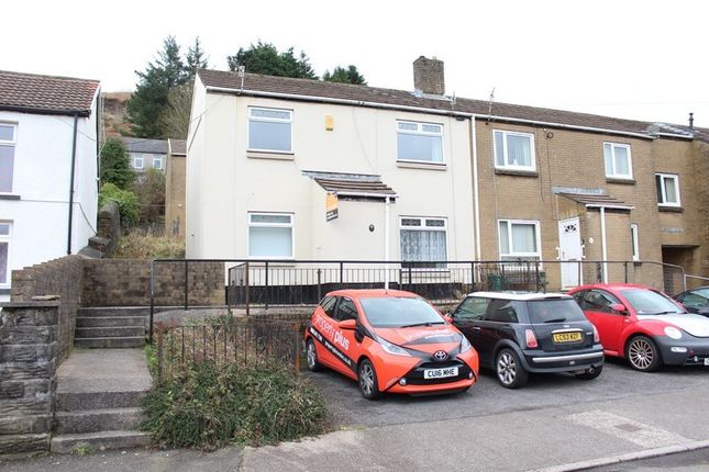 Thumbnail Semi-detached house to rent in Library Road, Pentre