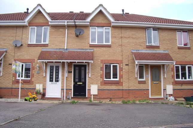 Thumbnail Terraced house to rent in Riverstone Way, Northampton