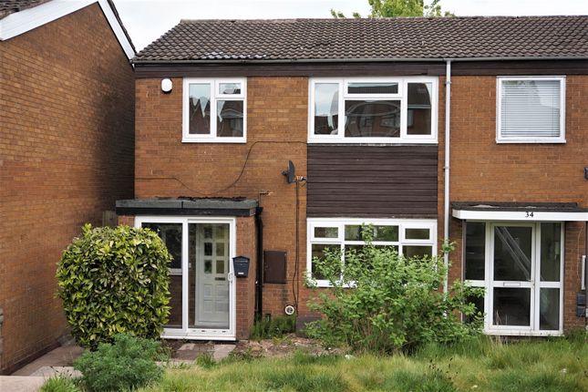 Thumbnail End terrace house for sale in Northpark Road, Brookvale Park, Erdington