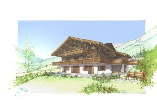 Thumbnail Town house for sale in Rougemont Near Gstaad, Vaud, Switzerland