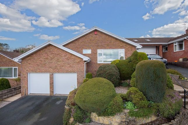 Thumbnail Detached bungalow for sale in Wilton Way, Abbotskerswell, Newton Abbot