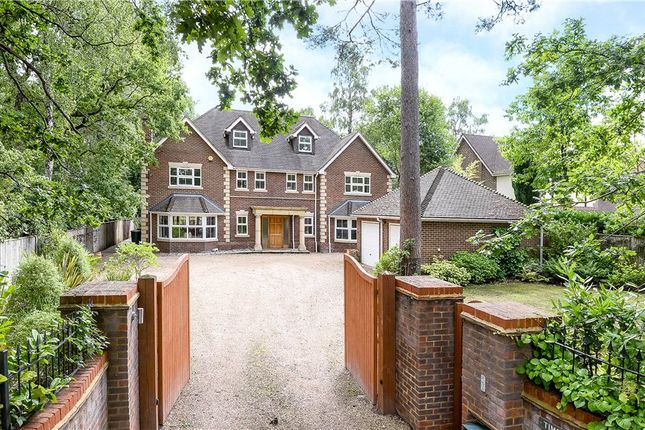 Thumbnail Detached house for sale in Hollybush Ride, Finchampstead, Wokingham