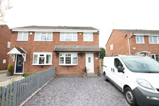 Thumbnail Semi-detached house to rent in Charnwood Drive, Hartshill, Nuneaton
