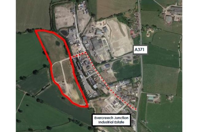 Thumbnail Land for sale in Nash Business Area, Evercreech Junction, Shepton Mallet, South West