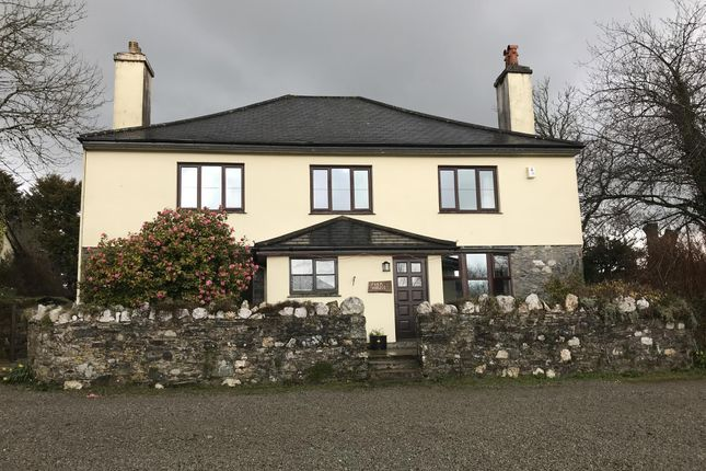 Thumbnail Hotel/guest house for sale in Dunterton, Tavistock