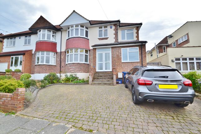 Thumbnail Semi-detached house for sale in Heddon Road, Cockfosters