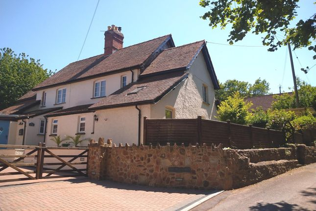 Semi-detached house for sale in Welcombe, Ellicombe, Minehead
