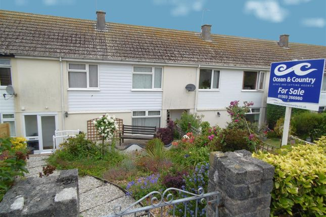 Thumbnail 3 bed terraced house for sale in Trewint Crescent, East Looe, Looe