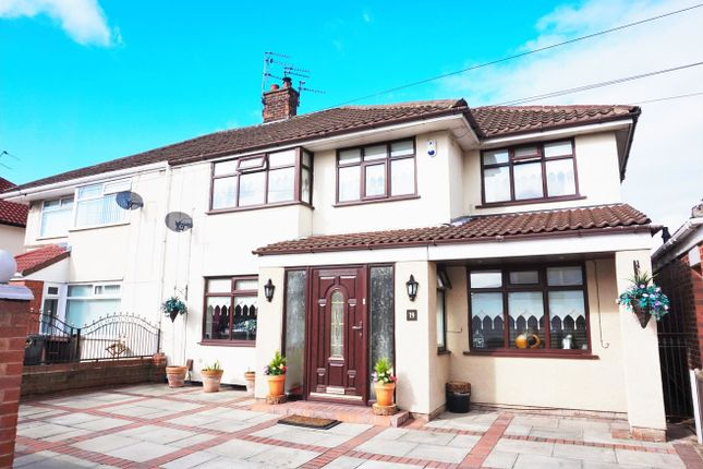 Thumbnail Semi-detached house for sale in Shrewsbury Avenue, Liverpool
