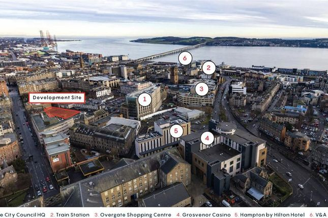 Land for sale in South Ward Road, Dundee