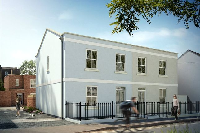 Thumbnail Semi-detached house for sale in Hewlett Place, Cheltenham, Gloucestershire