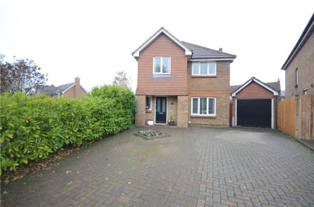 Thumbnail Detached house for sale in Jessett Drive, Church Crookham, Fleet