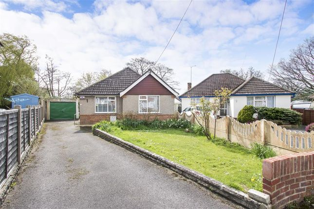 Thumbnail Detached bungalow for sale in Benmoor Road, Upton, Poole