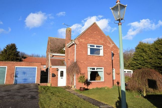 Thumbnail Detached house for sale in Lancaster Green, Hemswell Cliff, Gainsborough