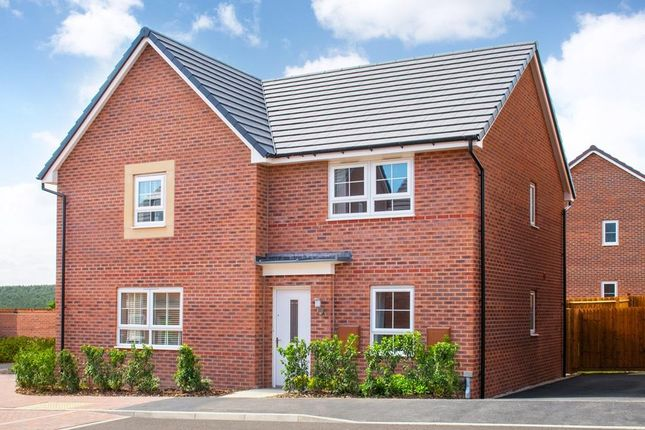 "Thumbnail 2 bedroom end terrace house for sale in ""Kenley"" at Lindhurst Way West, Mansfield"