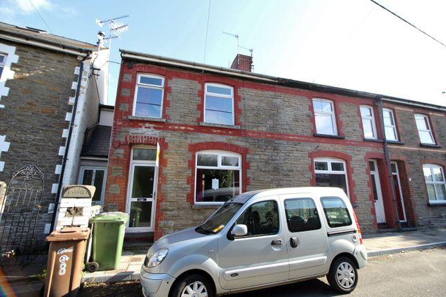 Thumbnail End terrace house for sale in Ivor Street, Fleur De Lis, Blackwood