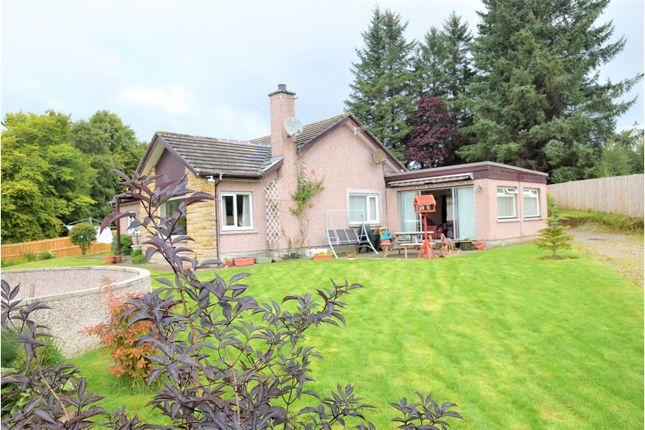 Thumbnail Detached bungalow for sale in Contin, Strathpeffer