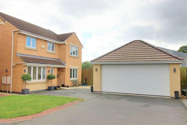 Thumbnail Detached house for sale in Kelsey Avenue, New Ollerton, Newark, Nottinghamshire