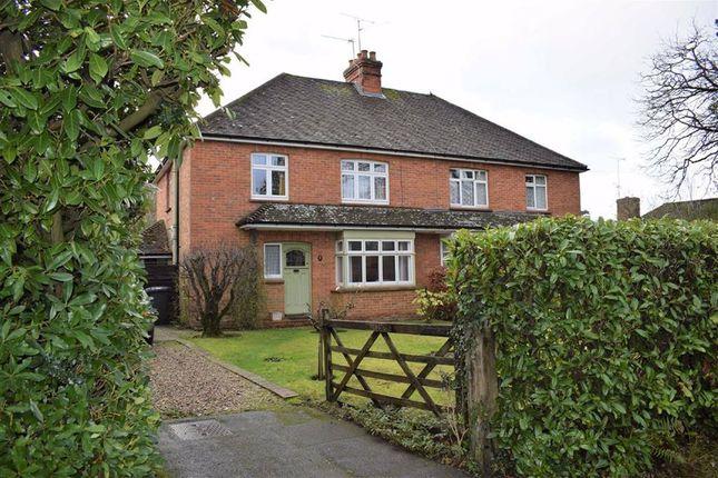 Thumbnail Semi-detached house for sale in Boundstone Road, Farnham, Surrey
