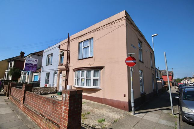 Thumbnail End terrace house to rent in Stamshaw Road, Portsmouth