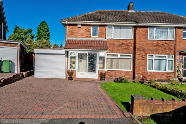 Thumbnail Semi-detached house for sale in Neville Avenue, Goldthorn Park, Wolverhampton
