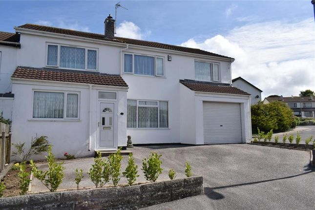 Semi-detached house for sale in Harefield Crescent, Camborne, Cornwall