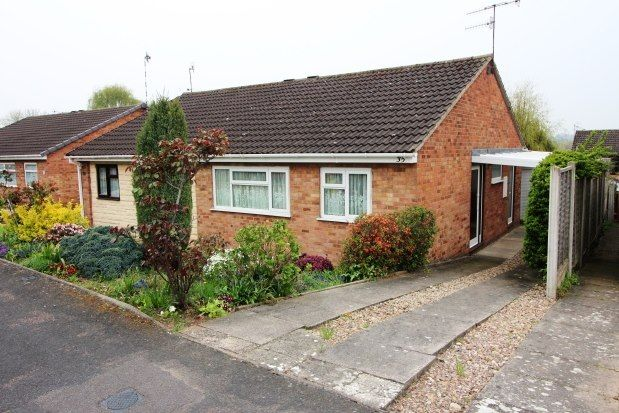 Thumbnail Bungalow to rent in Crane Close, Warwick