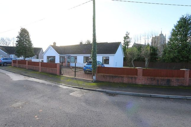 Thumbnail Detached bungalow for sale in Church Close, Peterstone Wentlooge, Cardiff, Cardiff, Caerdydd