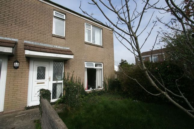 Thumbnail Terraced house to rent in Dyfrig Court, Llantwit Major