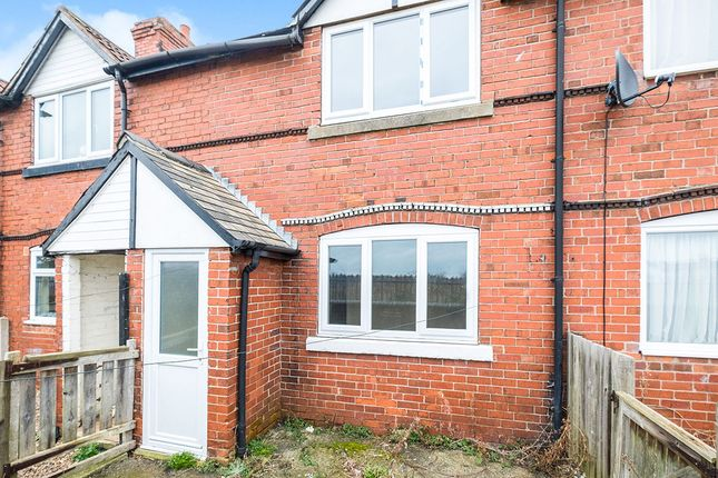 Thumbnail Terraced house for sale in Doe Quarry Terrace, Dinnington, Sheffield
