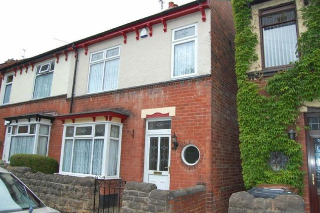 Thumbnail Semi-detached house to rent in Kirkby Avenue, Ilkeston, Derbyshire