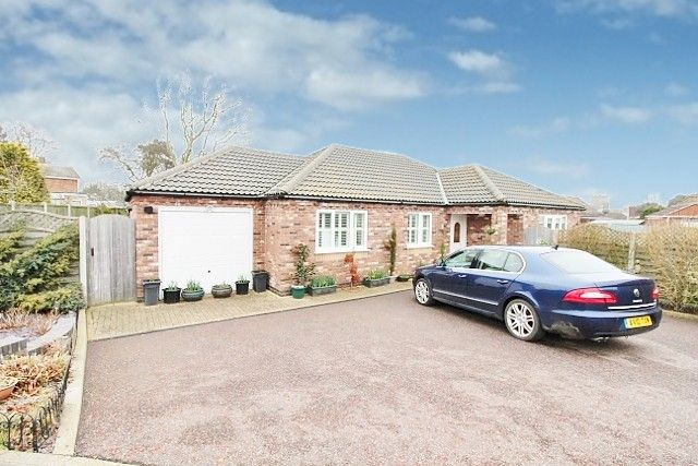Thumbnail Detached bungalow for sale in Ellison Close, Caister-On-Sea