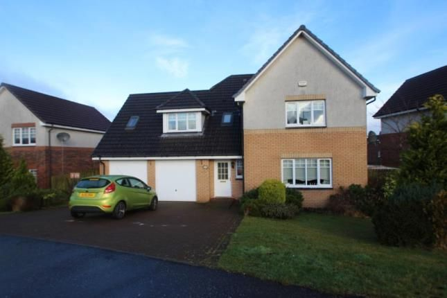 Thumbnail Detached house for sale in Broompark Crescent, Airdrie, North Lanarkshire