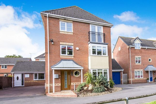 Thumbnail Detached house for sale in Mallow Croft, Bedworth