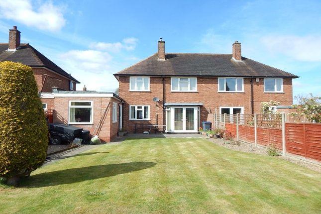 Thumbnail Semi-detached house for sale in Green Meadow Road, Selly Oak, Birmingham
