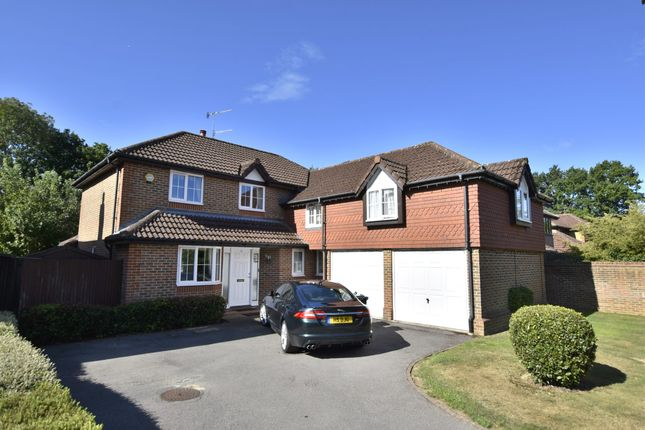 Thumbnail Detached house for sale in Grays Wood, Horley, Surrey