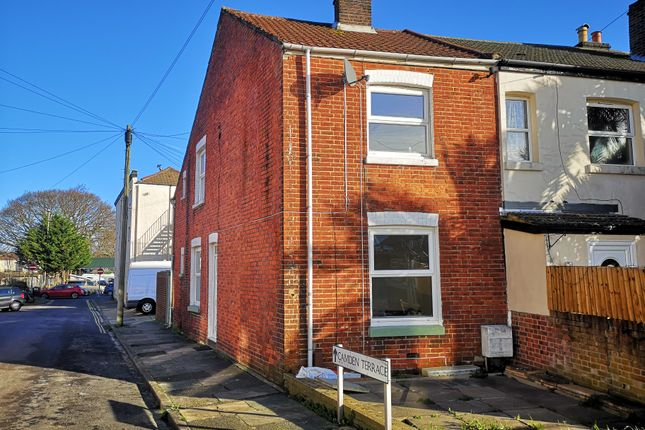 Thumbnail End terrace house to rent in Camden Terrace, Gosport