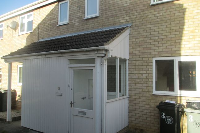 Thumbnail End terrace house to rent in Anson Court, Market Deeping, Peterborough