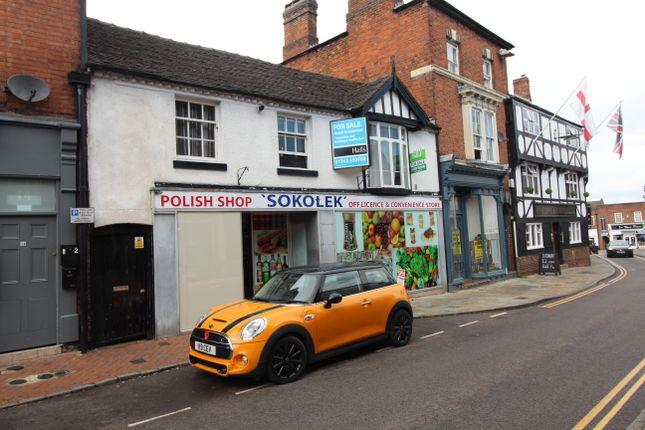 Thumbnail Retail premises for sale in Shropshire Street, Market Drayton