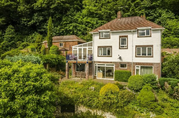 Thumbnail Detached house for sale in Eaton Road, Malvern