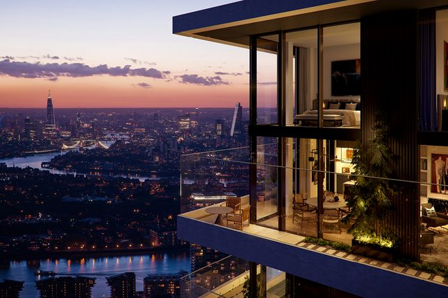 Thumbnail Flat for sale in Marsh Wall, Wardian London, Design Cube By Ballymore