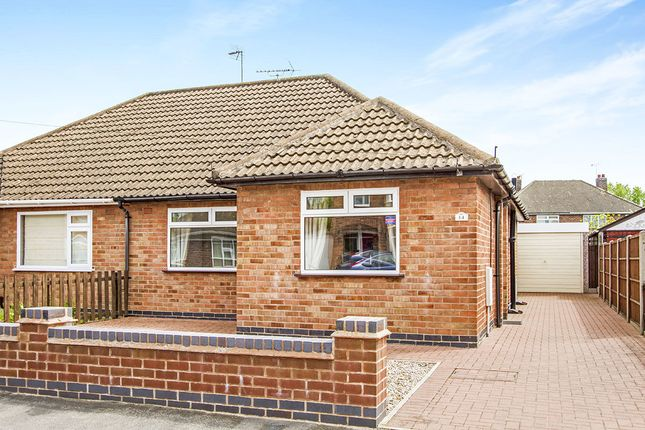 Thumbnail Bungalow for sale in Keswick Road, Blaby, Leicester